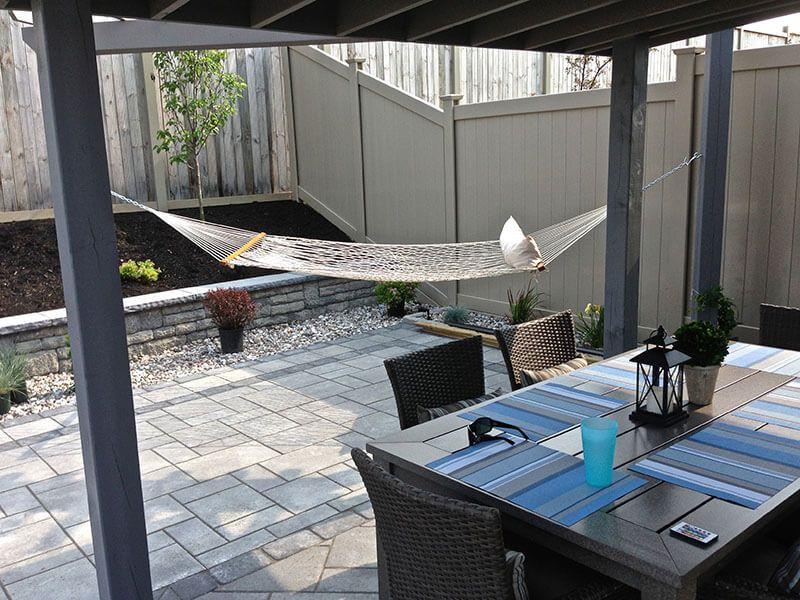 backyard interlock