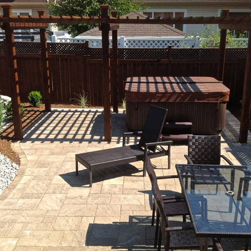 Patio and Special Feature